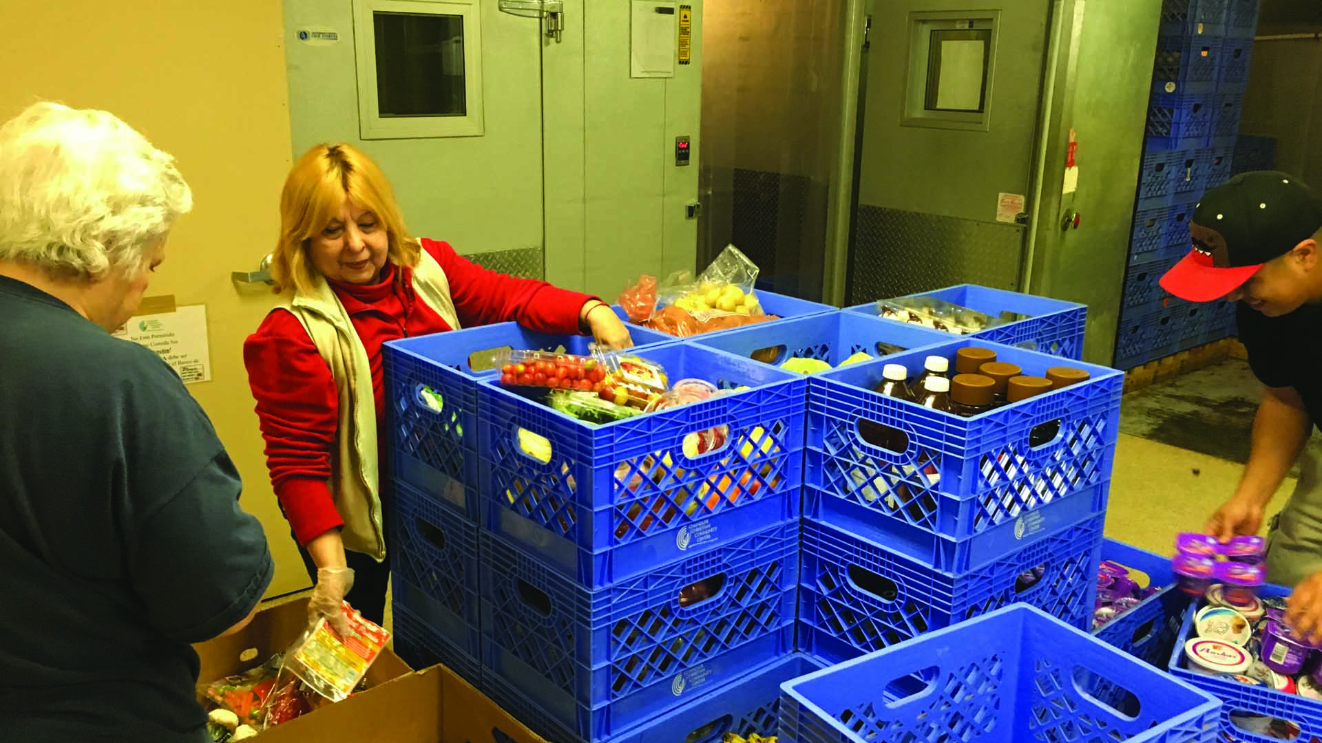 Volunteer Group Food Bank