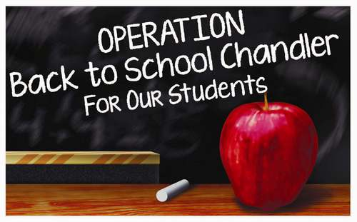 Operation Back to School Chandler